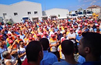 Maltepe Belediyesi'nde işçilerden eylem Kararı