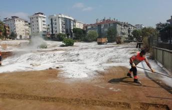 Maltepe Belediyesi'nden Kurban sonrası temizlik