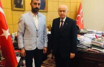 Maltepe MHP İlçe Başkanı Ömer Lefzan