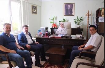 Milletvekili Tunç'dan Müftü Çakar'a Ziyaret