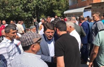 Milletvekili Tunç,Maden Şehidinin Acısını Paylaştı