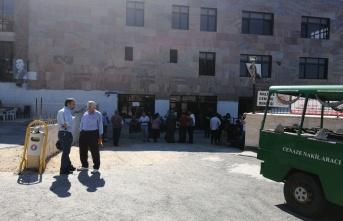 Çatışmada öldürülen MLKP'li teröristin cenazesi Gülsuyu Cemevi'nde