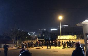 Maltepe'de işçi eyleminde 3 gözaltı
