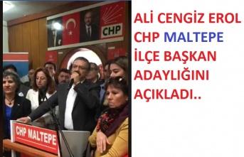 Ali Cengiz Erol Adaylığını Açıkladı