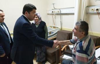 Başkan Vekili Yılmaz Tunç Hasta Ziyaretinde