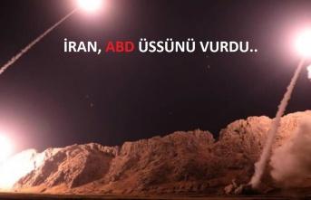 İran'dan ABD üssüne misilleme