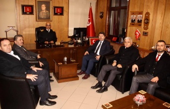 Milletvekili Tunç'tan Garnizon Komutanı Çalışkan'a Ziyaret