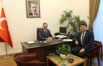 Milletvekili Tunç, Gençlik ve Spor Bakanı Kasapoğlu'nu Ziyaret Etti