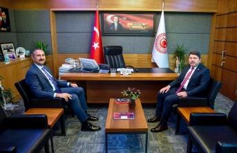 Adalet Bakanı GÜL'den TBMM Adalet Komisyon Başkanı TUNÇ'a Ziyaret