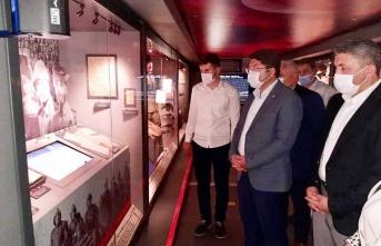 Milletvekili TUNÇ'tan Müze Ziyareti