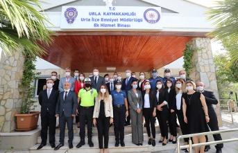 Urla İlçe Emniyet Müdürlüğü ek hizmet binası açıldı