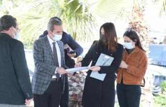 Belediye Başkan Vekili Dayanç çalışmaları yerinde inceledi