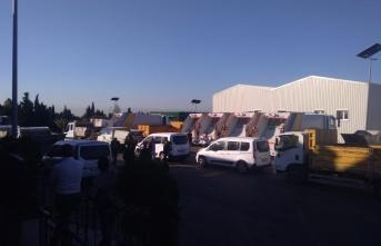 Belediye'den polis eşliğinde Altaş'a baskı