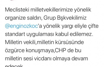MHP İlçe Başkanı Lefzan'dan Ali Kılıç'a Tokat Gibi Cevap