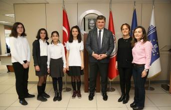 Karşıyakalı öğrencilerden uluslararası proje: