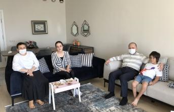 Maltepe'de Şehit Ailelerimiz Ziyaret Edildi